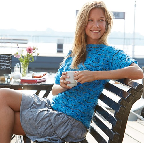 Catania Summer Top Crochet Pattern