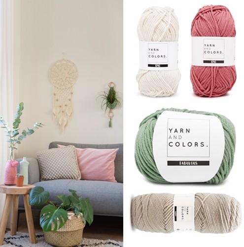 Home-Deco Crochet Kit Scandinavian