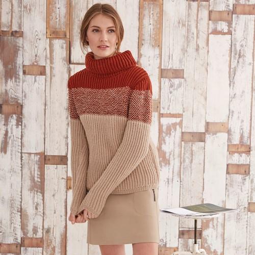 Knitting Pattern Bravo Sweater