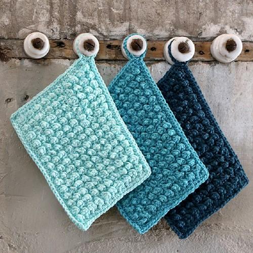 Crochet Pattern Catania Dishcloths