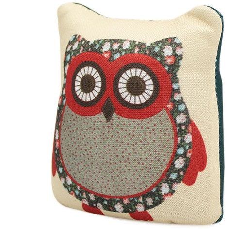 Sew Easy Pincushion Owl Green
