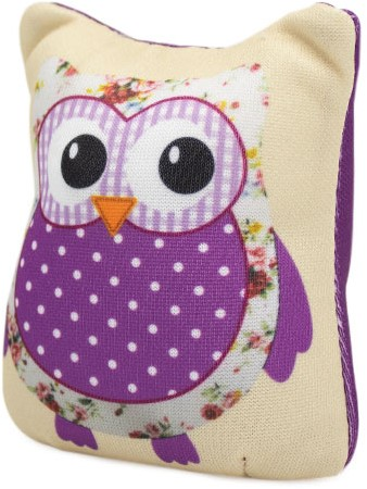 Sew Easy Pincushion Owl Purple