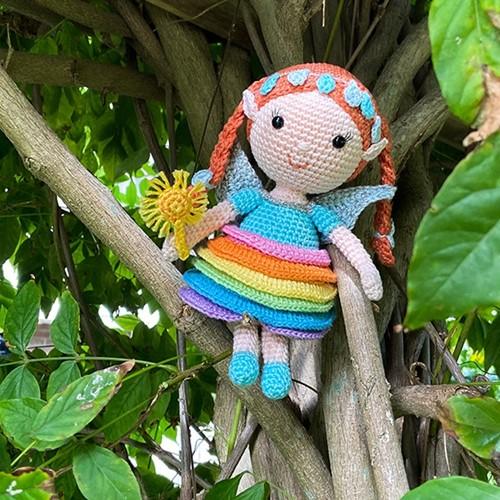 Ruby Rainbow Fairy Crochet Kit