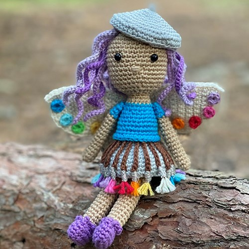 Artist Fairy Crochet Kit