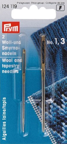 Prym wool and tapestry needles