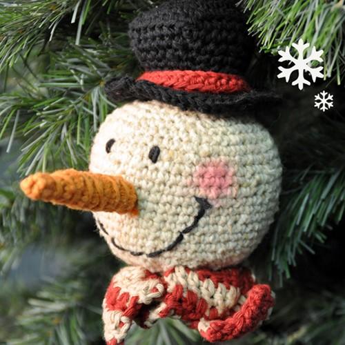 Crochet pattern Snowman