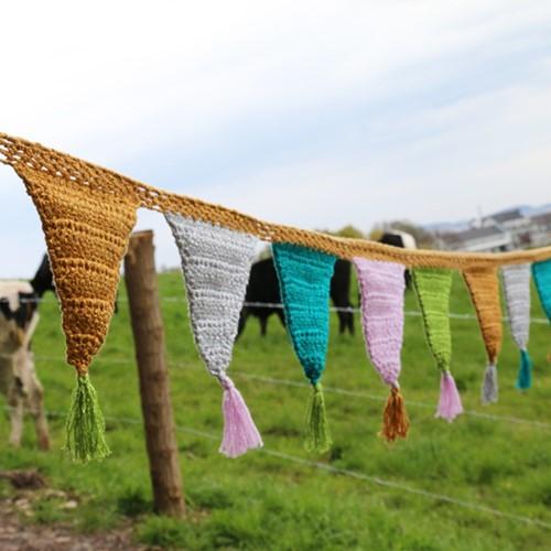 Sparkle Bunting Crochet Kit