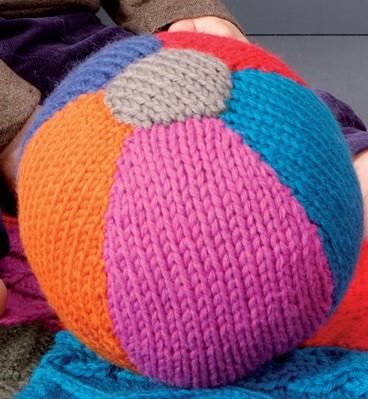 Knitting Pattern Toy Ball