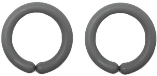 Durable Toy Rings 004 Grey