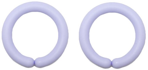 Durable Toy Rings 259 Light Blue