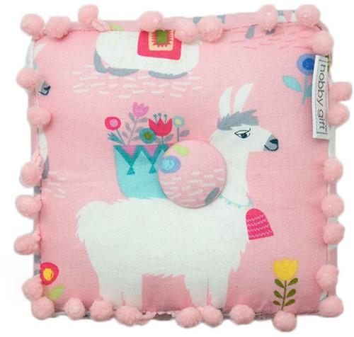 Pin Cushion Alpaca Adventure