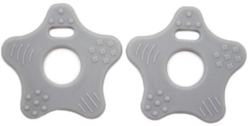Teether Rings Star 25 Grey