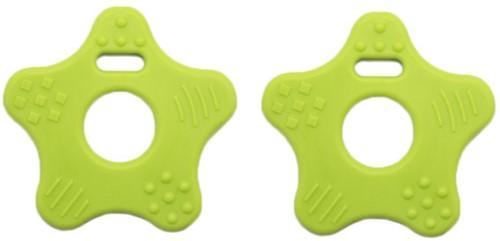 Teether Ring Star 76 Kiwi Green