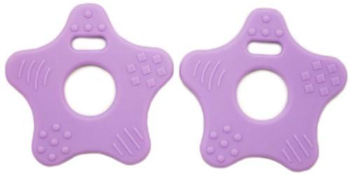 Teether Rings Star 24 Purple