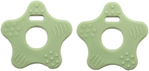 Teether Ring Star 75 Pastel Green