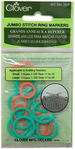Clover Jumbo Stitch Ring Markers