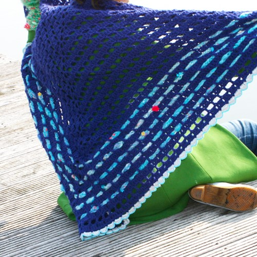 Crochet pattern Katia Wrap