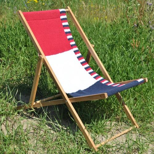Knitting pattern Cabotine beach chair