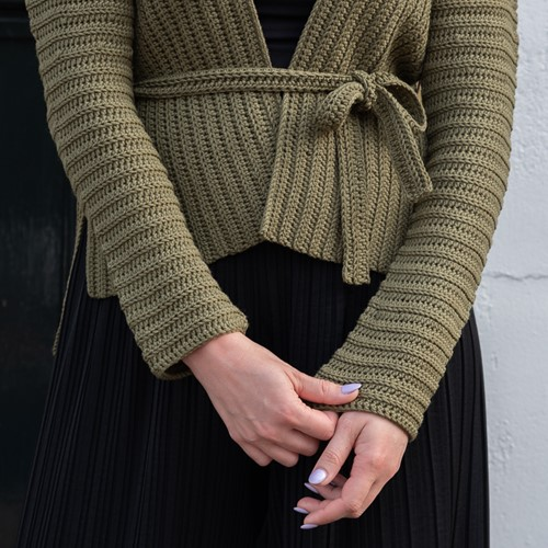 Crochet Pattern Yarn and Colors Summer Hill Cardigan
