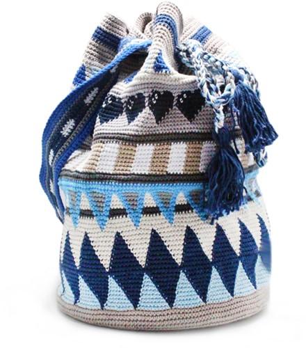 Tapestry Bag Crochet Kit 2 Jeans