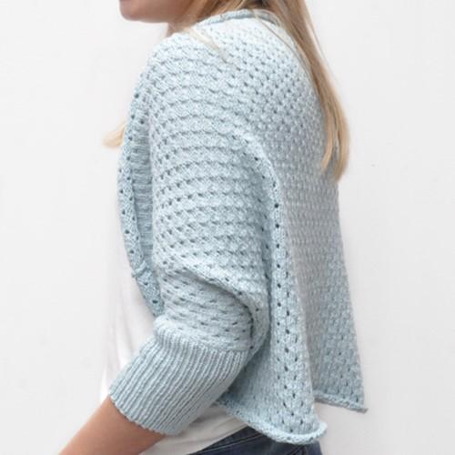 Knitting pattern Tendresse shrug