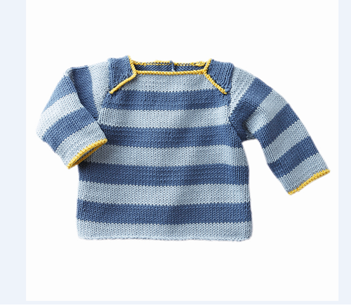 Knitting pattern Thalassa boys sweater