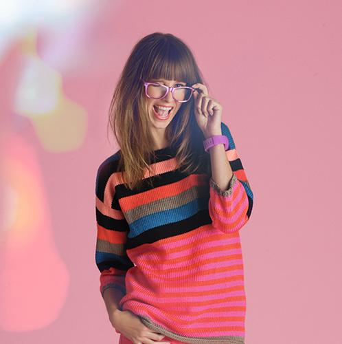 Knitting pattern Thalassa striped sweater