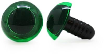 Safety Eyes Transparent Green (per piece) 15mm