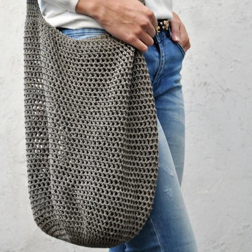 Crochet pattern Trendy shopper