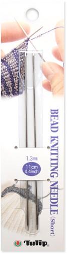 Tulip Bead Breinaalden (kort) 11cm 1,3mm
