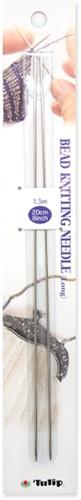 Tulip Bead Breinaalden (lang) 20cm 1,3mm