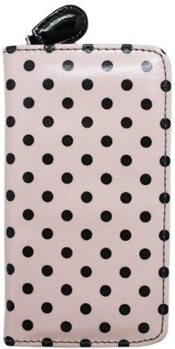Tulip Crochet Hook Case Pink Dots