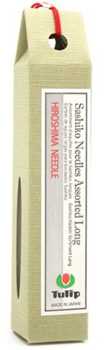 Tulip Hiroshima Sashiko Needle Set (Long)