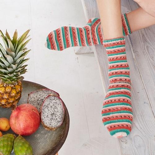Knitting Pattern Tutti Frutti Socks