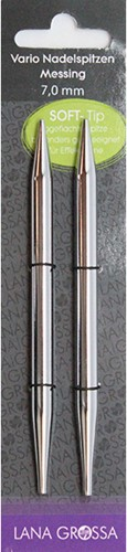 Lana Grossa Vario Messing Needle Tips 5,5mm
