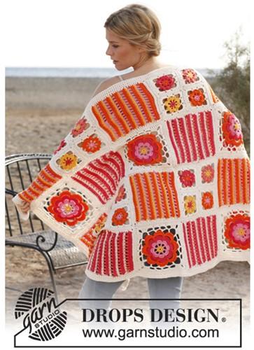 Crochet pattern Square blanket