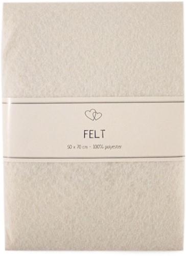 Go Handmade Felt Off-White