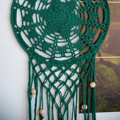 Home-Deco Dream Catcher Crochet Kit 4 Vintage