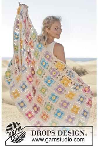 Crochet pattern Violet blanket