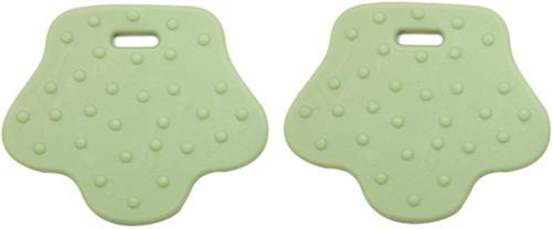 Teether Rings Animal Feet 85 Pastel Green