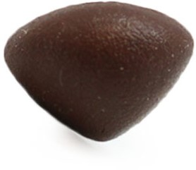 Safety Nose Triangle Soft Brown 21mm