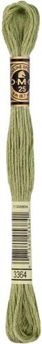 DMC 117MC Mouliné Spécial Embroidery Thread 8m 3364