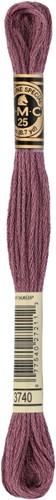DMC 117MC Mouliné Spécial Embroidery Thread 8m 3740