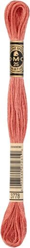 DMC 117MC Mouliné Spécial Embroidery Thread 8m 3778
