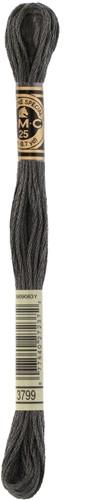 DMC 117MC Mouliné Spécial Embroidery Thread 8m 3799
