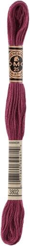 DMC 117MC Mouliné Spécial Embroidery Thread 8m 3802