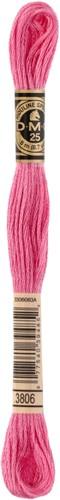 DMC 117MC Mouliné Spécial Embroidery Thread 8m 3806