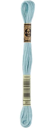 DMC 117MC Mouliné Spécial Embroidery Thread 8m 3811