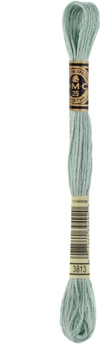 DMC 117MC Mouliné Spécial Embroidery Thread 8m 3813