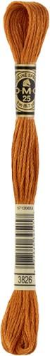 DMC 117MC Mouliné Spécial Embroidery Thread 8m 3826